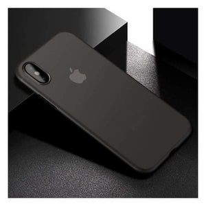 Ultra Thin Matte Case For iPhone X - Gray - Fitted Cases