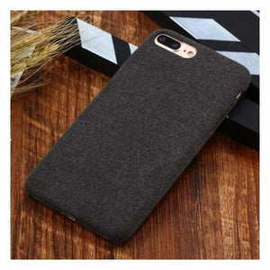 Ultra Thin Texture Case For iPhone - Black / for iphone XR - Half-wrapped Case