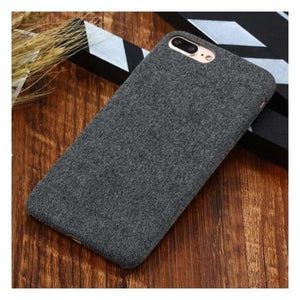 Ultra Thin Texture Case For iPhone - Dark grey / for iphone XR - Half-wrapped Case