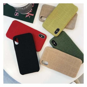 Ultra Thin Texture Case For iPhone - Half-wrapped Case