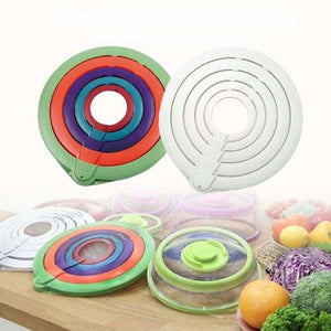 Vacuum Seal Food Cover Lids - Fresh-keeping Lids - vacuum-seal-food-cover-lids