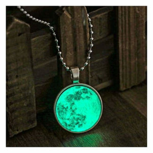 Vintage Glow In The Dark Necklace - Pendant Necklaces - vintage-glow-in-the-dark-necklace
