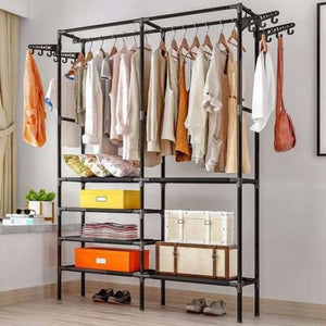 Wardrobe Clothing Drying Racks - Home - Black - wardrobe-clothing-drying-racks