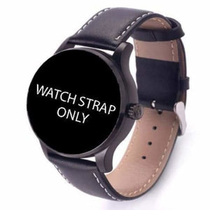 Watch Straps For K88H Unisex Smartwatch - black add white side - Smart Watches