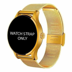 Watch Straps For K88H Unisex Smartwatch - gold steel strap - Smart Watches