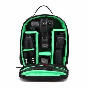 Waterproof Multi-functional Camera Bag - Green - Camera/Video Bags