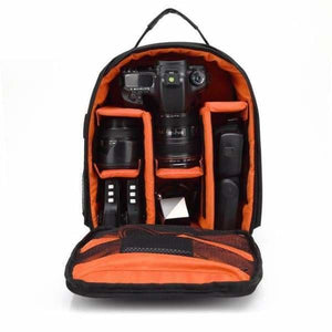 Waterproof Multi-functional Camera Bag - Orange - Camera/Video Bags
