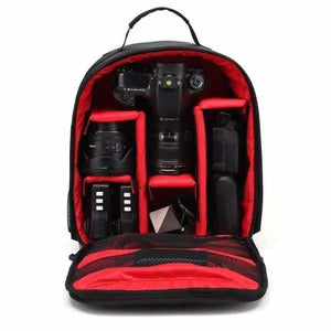 Waterproof Multi-functional Camera Bag - Red - Camera/Video Bags