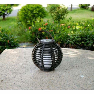 Waterproof Solar Powered LED Candle Lantern - Solar Lamps