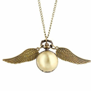 Wing Design Necklace Watches - Home - P1000 - wing-design-necklace-watches