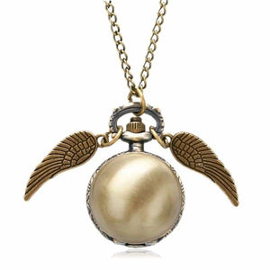 Wing Design Necklace Watches - Home - P957 - wing-design-necklace-watches