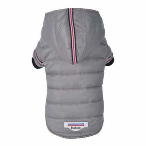 Winter Warm Dog Clothes - Dog Coats & Jackets - Grey / XS - winter-warm-dog-clothes