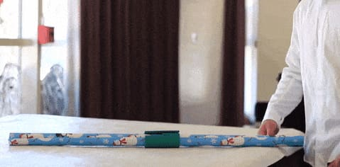 Wrapping Paper Easy Cutter