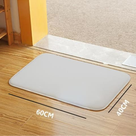 Quick-Drying Absorbent Door/Bath Mat