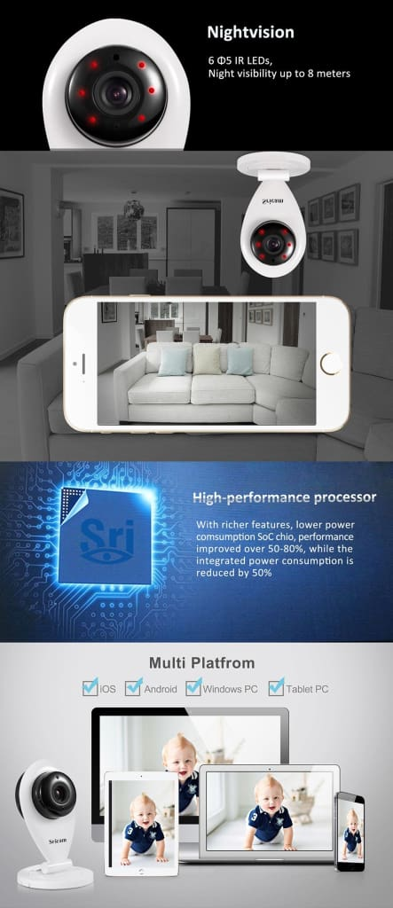 Wireless Surveillance Camera HD