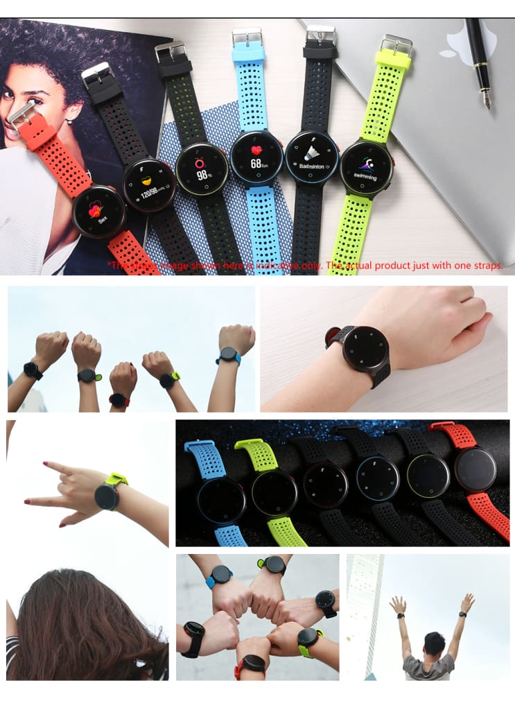 I8 Smartwatch With Blood Pressure Monitor X2