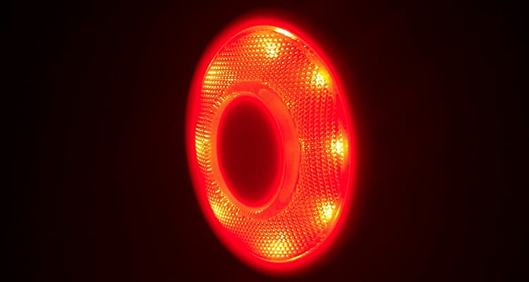 Door LED Safety Warning Light