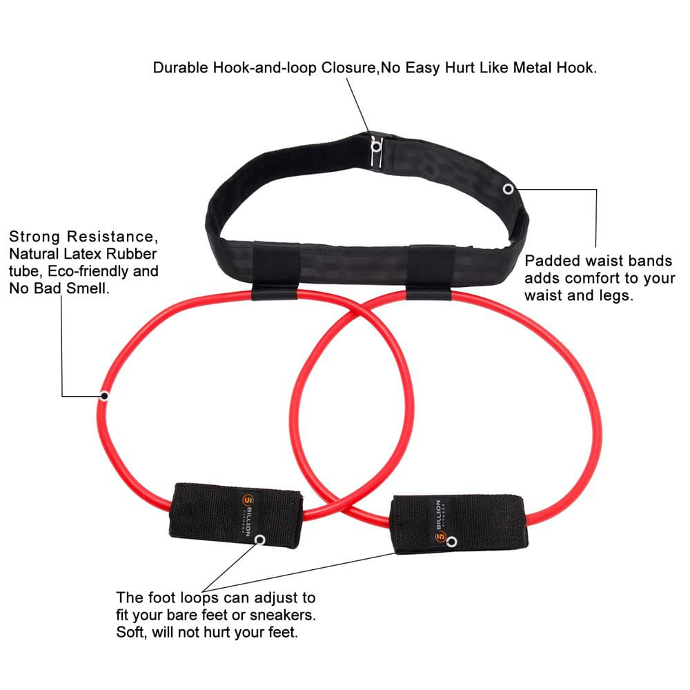 Fitness Booty Resistance Bands Set for Butt & Legs Muscle Training