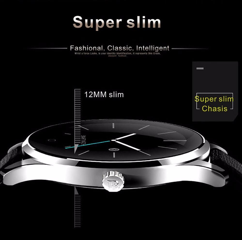 K88H Stainless Steel Smartwatch