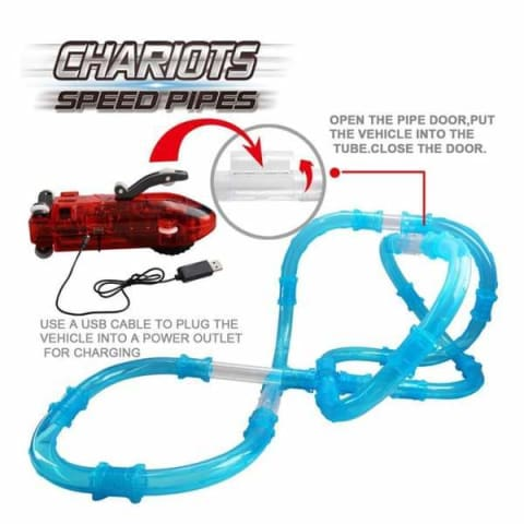 RC Speed Pipes Trax