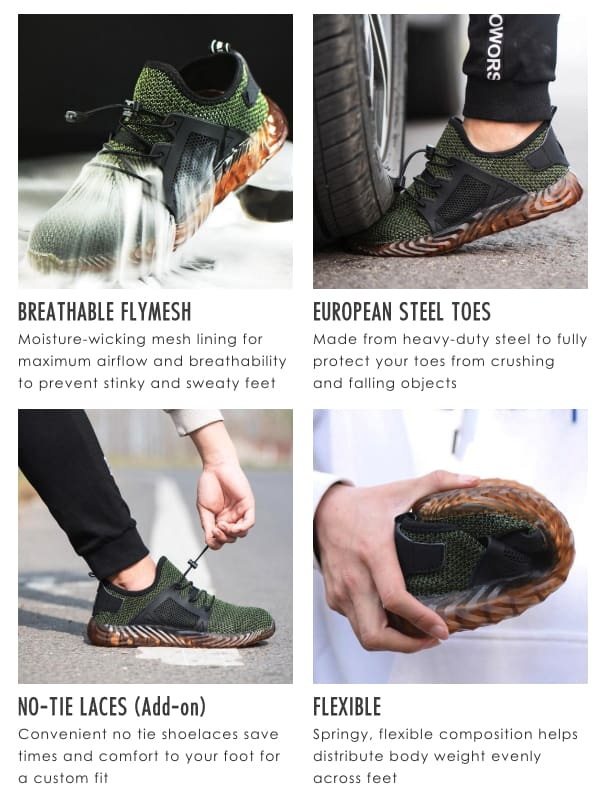 Indestructible Protective safety Work Shoes