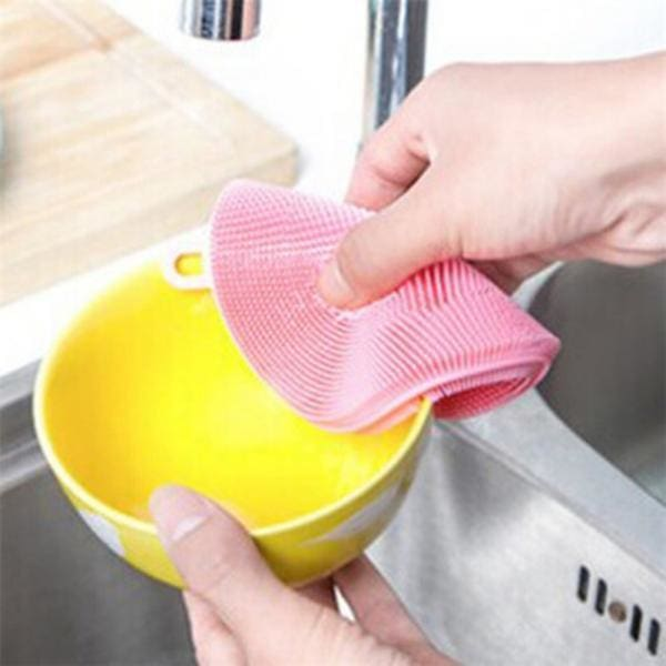 magic silicone cleaning sponge