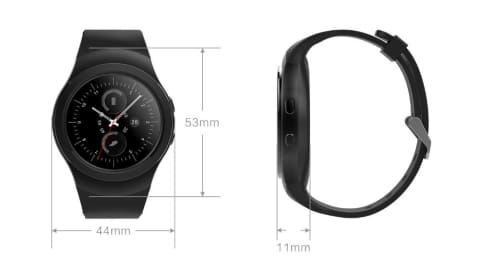 iWZ-t2 - Smart watch For iOS and Android
