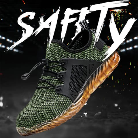 Strider Protective Safety Work Shoes
