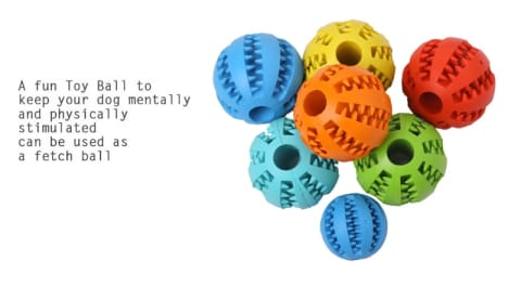 Funny Interactive Elastic Ball For Pet