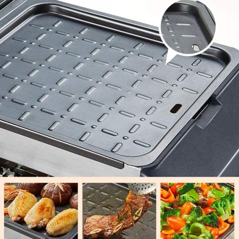 Multifunctional Electric Griddle BBQ Furnace
