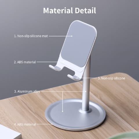 360 Degree Adjustable Pole-styled Phone Stand