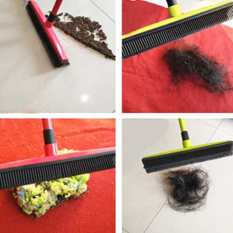 Rubber Squeegee Broom