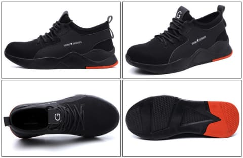 Sport Bulletproof Safety Protection Work Shoes
