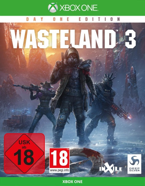 Wasteland 3 PEGI AT 18 DAY ONE UNCUT EDITION für PC/ PlayStation 4/ Xbox One