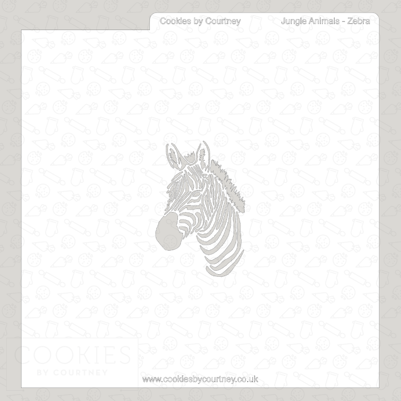 Jungle Animals - Zebra