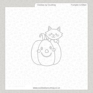 Pumpkin and Kitten - PYO