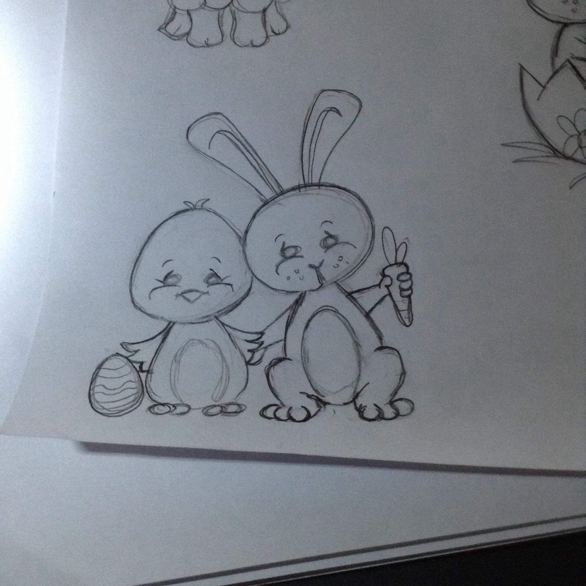Punky's Chick and Bunny