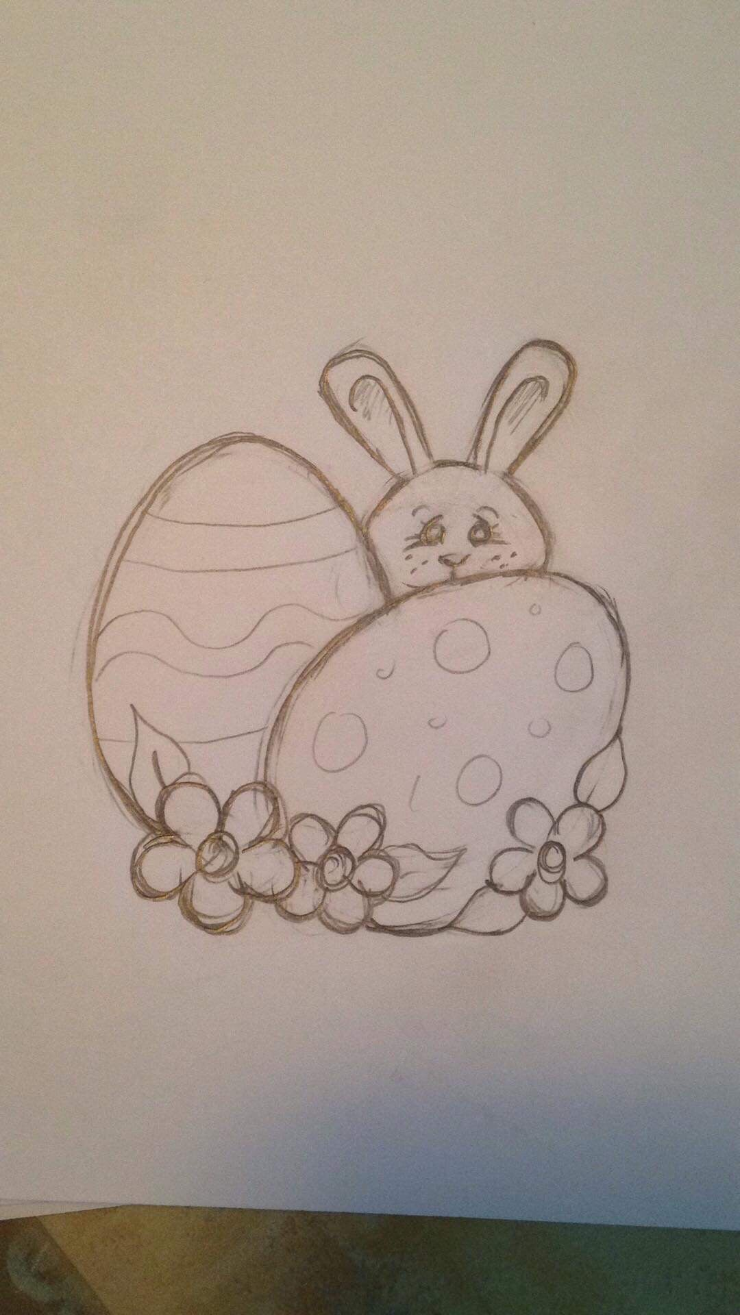 Punky's Bunny and Eggs
