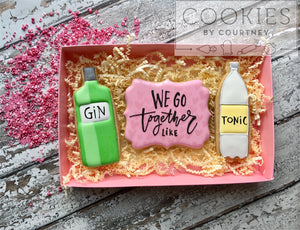 Gin and Tonic Bottles