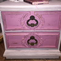 Chalk Based Paint - Antique Pink