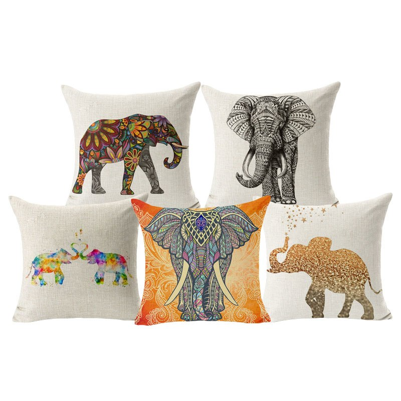 "Copy of ""Prosperous Giants"" - Lucky Elephant Pillow Cases"
