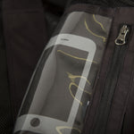 TOBE Tiro Mono Suit, Dark Ink Pink - functional cell phone pocket
