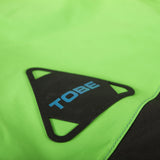 TOBE Tiro Mono Suit, Classic Green - carabiner logo on left chest