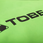 TOBE Tiro Mono Suit, Classic Green - large tobe logo on sleeve