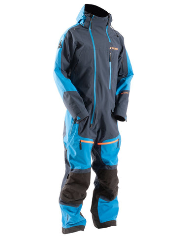 Novo V3 Insulated Mono Suit, Blue Aster - Front