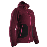 Aura Fleece Hood W, Purple