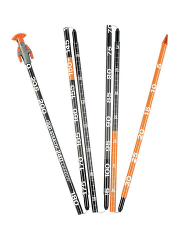 BCA Stealth 240 CARBON Avalanche Probe - Orange