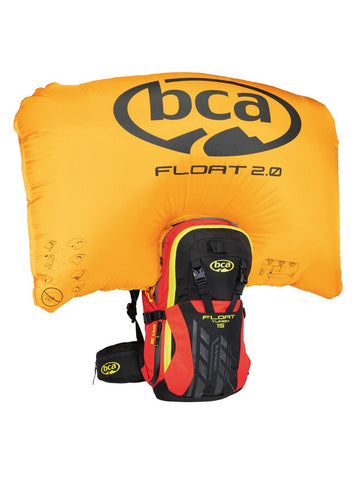 BCA FLOAT 15 TURBO™ AVALANCHE AIRBAG 2.0 Red/Black/Yellow