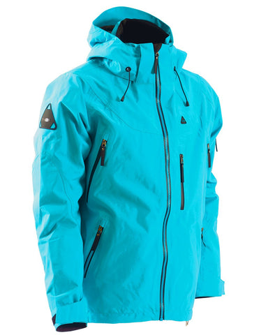 TOBE Novo Snowmobile Jacket Shell Bluebird - Front