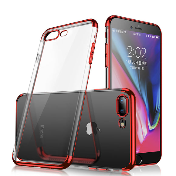 Cafele Überzug transparent Soft TPU Fall für iPhone 7 Plus/8 Plus 5.5